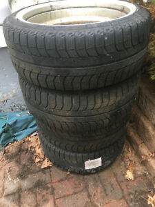 Michelin Winter Tires and Mag Rims