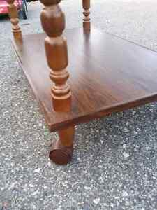 Vintage Rolling TV Table Regina Regina Area image 3