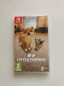 Nintendo Switch game Little Friends Dogs and Cats