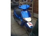 Piaggio scooter 100cc