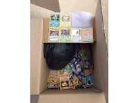Pokemon cards original ones box full guessing 400+ cards