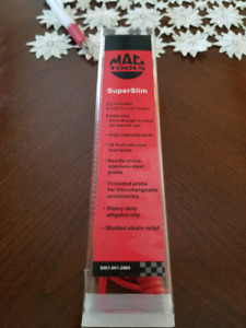 Mac Tools SuperSlim and Mac Tools Circuit Testers