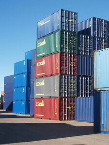 SEA STORAGE CONTAINERS FOR SALE 20' 40' 40'CH