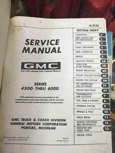1970 GMC 4500-6500 Truck Service Manual Moose Jaw Regina Area image 2