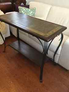 table d'appoint console