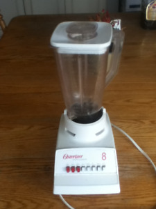 Osterizer Blender Sunbeam 8 Grate Chop Grind Stir Puree Mix