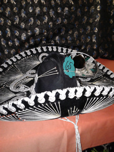 Pigalle Mexican hat plus bonus hat SHOWROOM CONDITION
