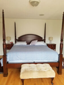 Beautiful Canopy Bedroom Set