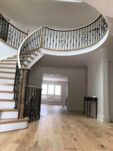 Stairs Flooring Installation And Refinishing Services In