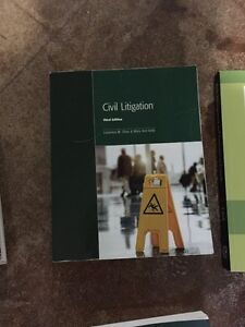 LAW CLERK TEXTBOOKS FOR SALE London Ontario image 7