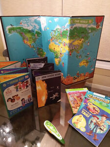Leap Frog (Pen, World Map, Books and Discovery Sets)