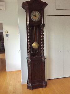 Horloge grand père antique - Allemagne -