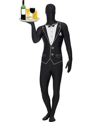 Zweite Haut, Smoking Muster, Zweite Haut Kostüm, 96.5cm-102cm, Bein - 5 Zweite Kostüm