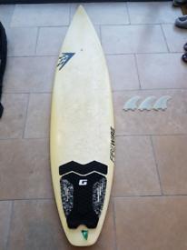 Firewire Flexfire EPS shortboard surfboard 6ft 6