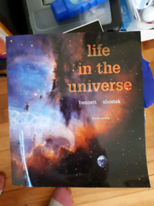Life in the Universe astronomy textbook