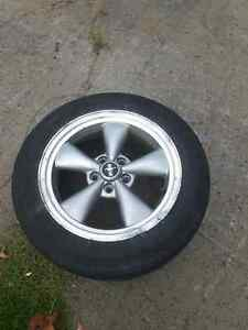 Trade Mustang rims for a set of 5x114.3 rims