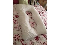 Maternity pregnancy support U shaped pillow