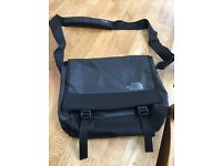 North face laptop bag in black