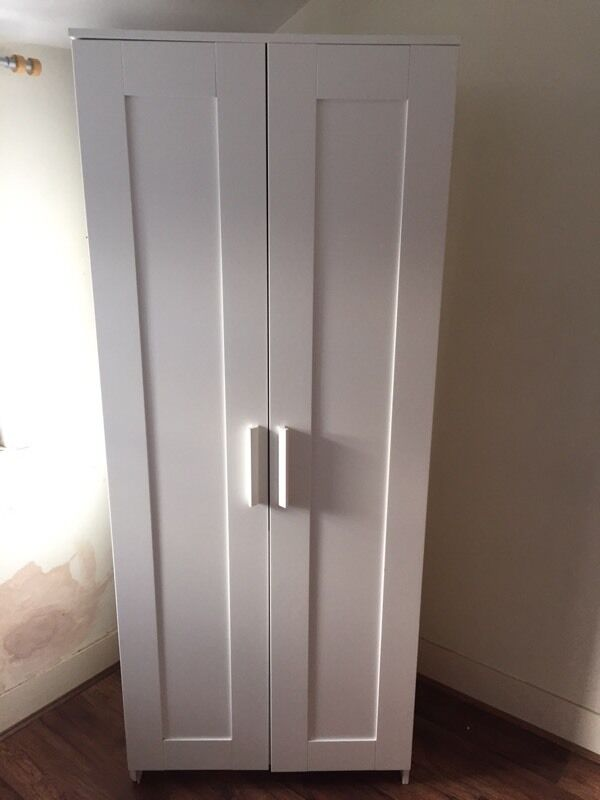 ikea brimnes wardrobe white in sutton london gumtree. Black Bedroom Furniture Sets. Home Design Ideas