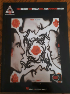 RHCP Guitar Tab Book