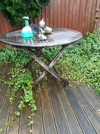 Garden Table very sturdy