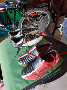 Two Soccer Shoes for Sale - Men's/Boy's size 8