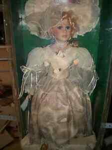 Porcelain Collectible Doll Kawartha Lakes Peterborough Area image 1