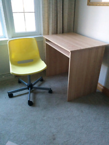 Ikea kids desk and chair