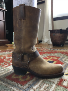 "Ladies ""Frye"" Laether Harness Boots"