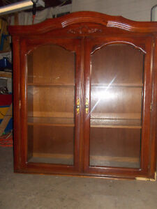 Hutch/China Cabinet- REDUCED PRICE $150 obo