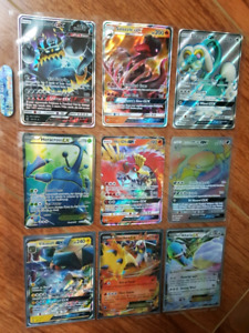 Pokemon EX and GX Cards