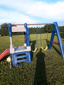 Structure little tikes clubhouse swing set