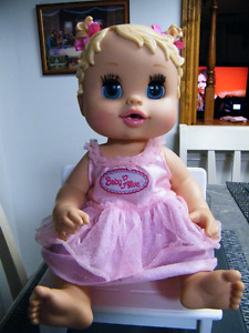 BABY ALIVE DOLL WITH DRESS
