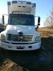 2006 Hino 308 Reefer truck with SAFETY and EMISSION