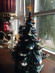 JUST ARRIVED ceramic light up tree  London Ontario image 1
