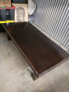 Dining Table top.  Solid Walnut.  Antique.  Estate Sale