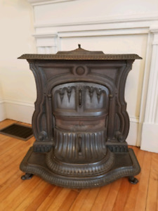 Antique Franklin Stove