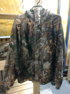 Realtree camo hunting coat
