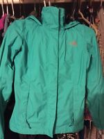 small and x-small north face jackets