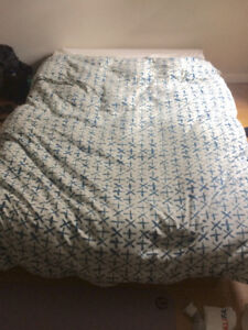Like new, double bed frame and mattress
