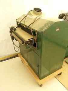 Power feed Thickness sander
