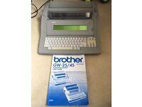 Brother GW-25/45 Word Processor