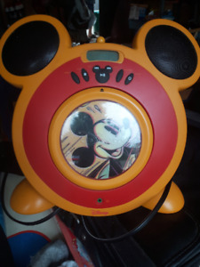 Mickey Mouse Radio and CD player