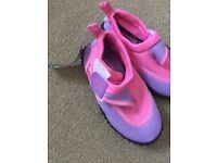 Brand new pool sea shoes size 5 toddler
