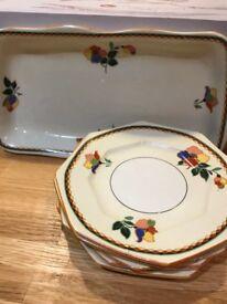 Vintage Porcelain Norville Ware C&E Ltd
