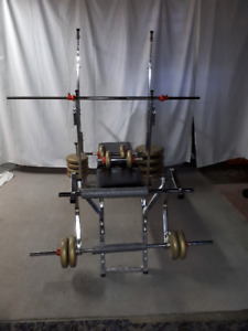 York Exercise (Weight)  Bench and Weights