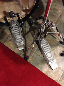 never been used drum and chrome rack