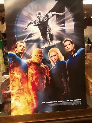 Fantastic Four Rise of the Silver Surfer mini movie poster 13