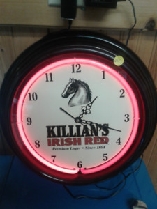 Killians Neon beer clock