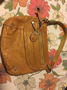 Fossle Leather Purse